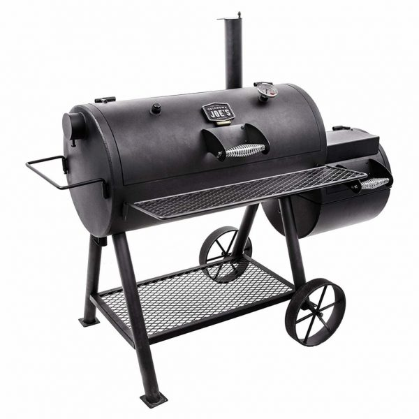 Top reverse flow offset smoker