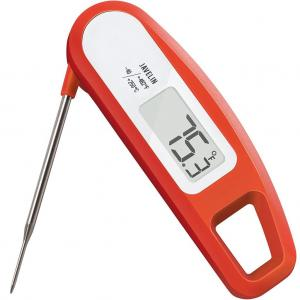 Make sure that meat's perfectly cooked with this digital meat thermometer by Lavatools