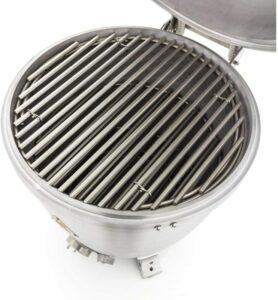 Blaze Freestanding Kamado with Shelves Grates