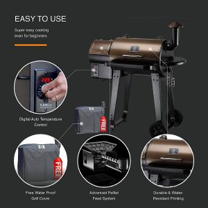 Z Grills ZPG-450A Easy to Use