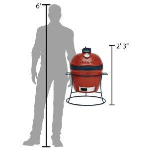 Kamado Joe Jr size