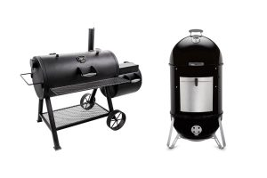 Offset Smoker vs WSM
