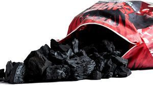 Jealous Devil All Natural Hardwood Lump Charcoal Open Bag