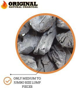 Original Natural Charcoal Size