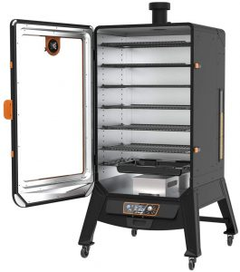 Pit Boss Sportsman 7-Series Pellet Smoker Open
