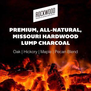 Rockwood All-Natural Hardwood Lump Charcoal Type