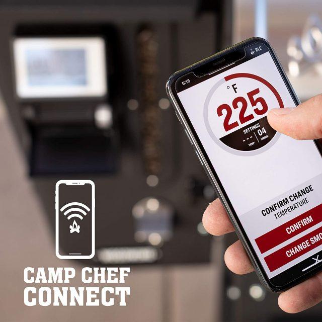 Camp Chef 24 WiFi Woodwind WiFi App