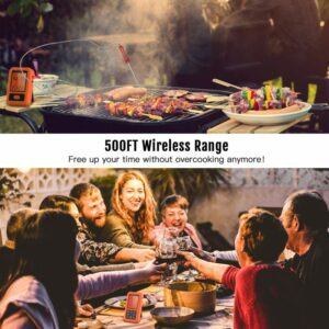 ENZOO Wireless Meat Thermometer Range