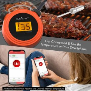NutriChef Smart Bluetooth Meat Thermometer App