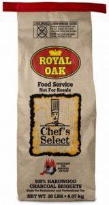 Royal Oak Chef's Select Natural Hardwood Charcoal Briquets