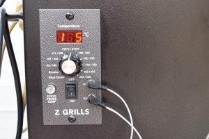 Z-Grills ZPG-700XL Control Panel