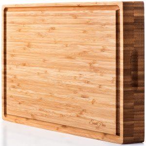 SoulFino Extra Large Bamboo Butcher Block